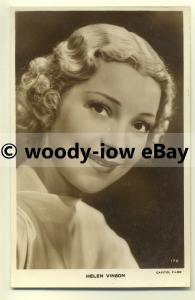 us0098 - Film Actress - Helen Vinson - postcard
