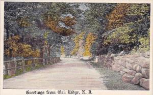 Greetings From Oak Ridge New Jersey