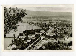 263102 ALBANIA POGRADETZ town & lake old Albturist postcard