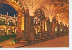 Postal 030153 : Lisboa (Portugal) Claustro de Mosteiro dos Jeronimos