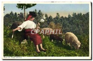 Postcard Old Sever do Vouga Folklore