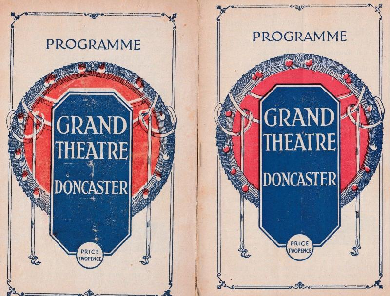 Doncaster Clowns & Performing Teddy Bears 2x Old Theatre Programme s