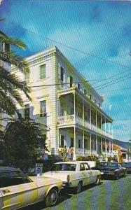 St Thomas Government House Overlooking Charlotte Amalie Harbor