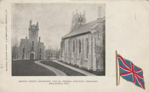 BELLEVILLE , Ontario, Canada, 1906 ; Methodist & Anglican Churches