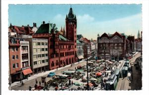 BASEL, Switzerland; Marktplatz, 40-60s