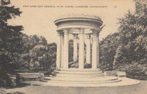 CAMBRIDGE, Massachusetts, 1900-10s; Mary Baker Eddy Memorial in Mt. Auburn
