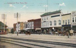 RENO , Nevada , 1912 ; Commercial Row
