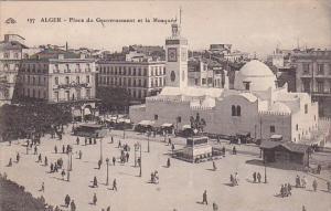 Algeria Alger Place du Gouvernement et la Mosquee