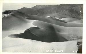 RPPC of Sand Dunes - No Location Shown