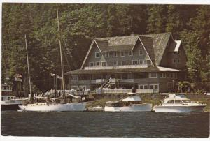 Wigwam Inn , Indian Arm Inlet , B.C. , Canada , 50-60s