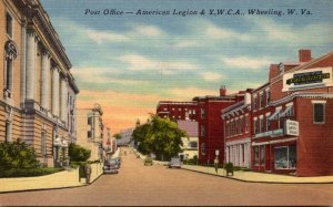 West Virginia Wheeling Post Office American Legion & Y W C A Building 1943