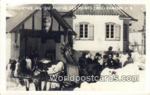 Ste Agatha Des Monts, PQ Canada, du Canada Laurentide Inn Ste Agatha Des Mont...