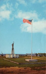 Scouts Post Card Boy Scout Monument Paseo De Susana, Guam Postcard Unused