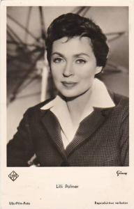 Lilli Palmer Real Photo