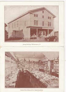 WILLIAMSTOWN , Vermont, 1900-10s ; Kenyon & Co. Department Store