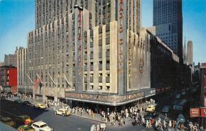 USA Radio City Music Hall Largest Indoor Theatre Auto Vintage Cars