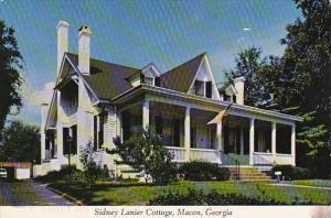Georgia Macon Sidney Lanier Cottage 1999