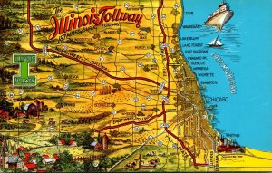 Map Of The Illinois Tollway