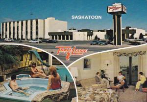 Multiple Views, Swimming Pool, TraveLodge Motor Hotel, SASKATOON, Saskatchewa...