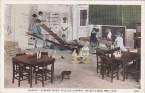 Michigan Battle Creek Nursery Kindergarten Kellogg Company 1932
