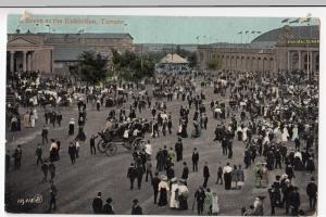 A Scene At The Exhibition, Toronto, PPC, 1909 PMK To Miss Theobald, Forest Gate