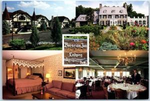 Shepherdstown, West Virginia Postcard BAVARIAN INN & LODGE Hotel Roadside c1970s