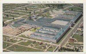FLINT , Michigan, 1910s ; Fisher Body Corp.