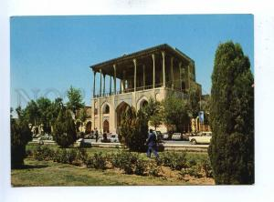 193032 IRAN ESFAHAN building of Ali Ghapoo old photo postcard
