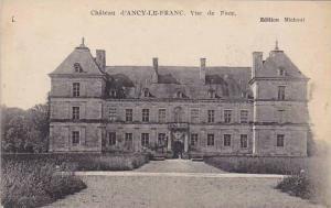 Vue De Face, Chateau d'Ancy-Le-Franc (Yonne), France, 1900-1910s