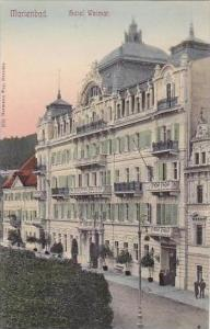 Austria Marienbad Hotel Weimar Czech Republic