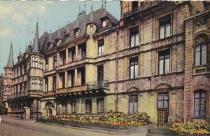 Luxembourg Le Palais Grand Ducal 1957