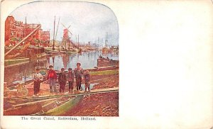 The Great Canal Rotterdam Holland Unused