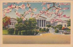New York Buffalo Albright Art Gallery
