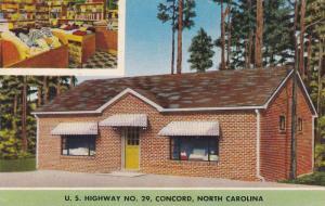 Exterior,  Towel Shop on U.S. Hwy 29.,  Concord,   North Carolina,  40-60s