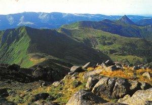 France Les Monts du Cantal Auvergne Le Puy Griou Panorama Postcard
