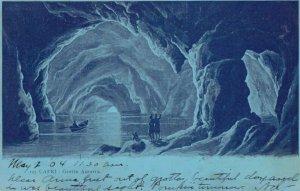 Grotta Azzurra, Capri, Campania, Italy 1904