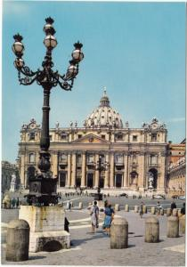 Citta del Vaticano, St. Peter's Basilica, unused Postcard