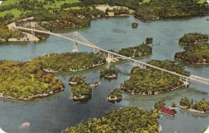 The Thousand Islands International Bridge, Canadian Section, Canada, 40-60s