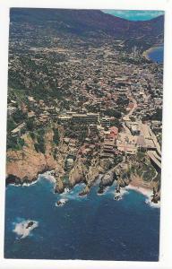 Mexico Acapulco Aerial View De La Quebrada Diving Cliffs