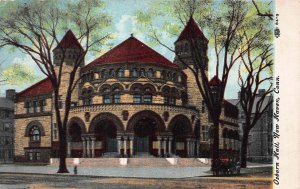 Osborn Hall, Yale, University, New Haven, CT, Early Postcard, Used in 1910