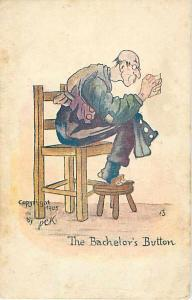 UND/B The Bachelor's Button by PCK Copyright 1905