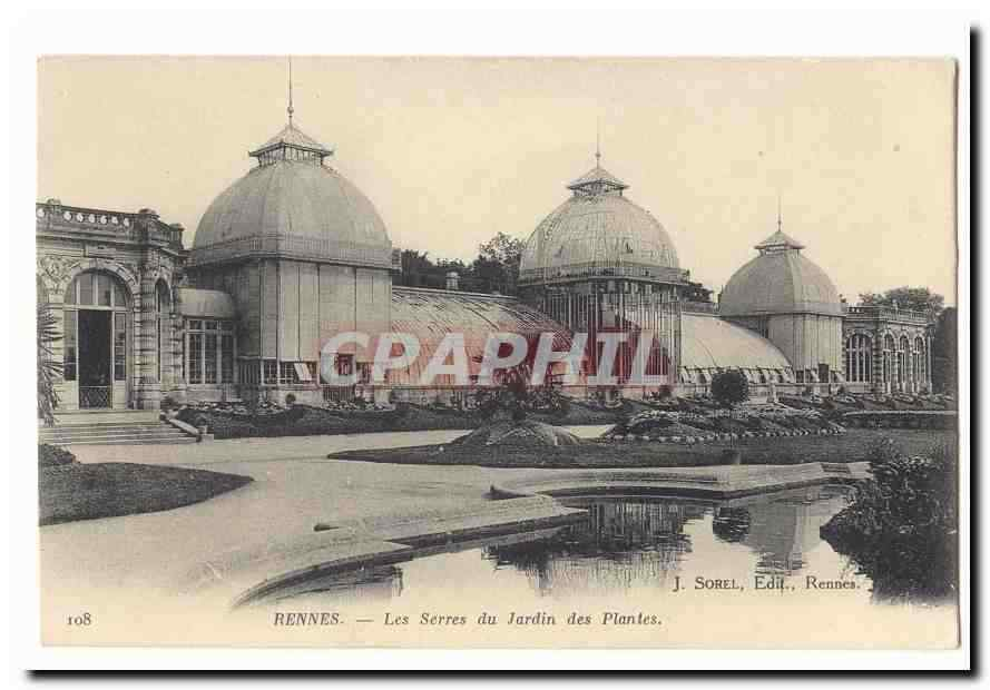 Rennes CPA Les serres du Jardin des plantes / HipPostcard