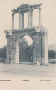 Arc d´Adrien, Athens, Greece, Pre-1907