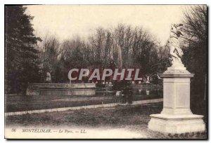 Old Postcard Montelimar park