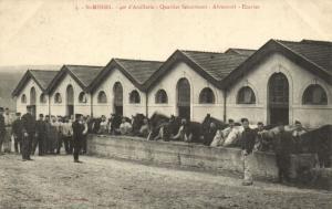 CPA Militaire (Dep.55) Saint-Mihiel - 40e d'Artillerie - Quartier (90815)