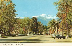 Postcard Maine Street North Conway New Hampshire