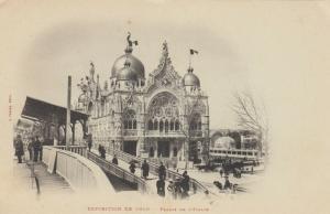 PARIS, France, 1900-10s; Exposition de 1900, Palais de L'Italie