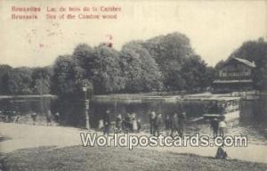 Bruxelles, Belgium, België, la Belgique, Belgien Lac du bois de la Cambre  L...