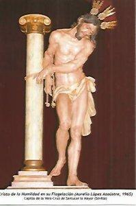 POSTAL: Cristo de la Humildad en su Flagelacion. Sevilla