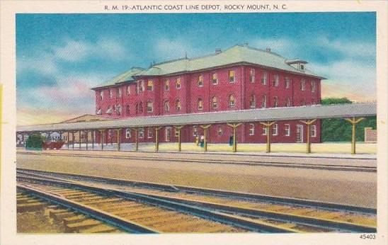 Atlantic Coast Line Depot Rocky Mount North Carolina